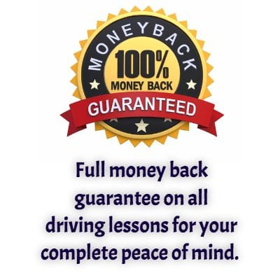Money Back Guarantee on Driving Lessons