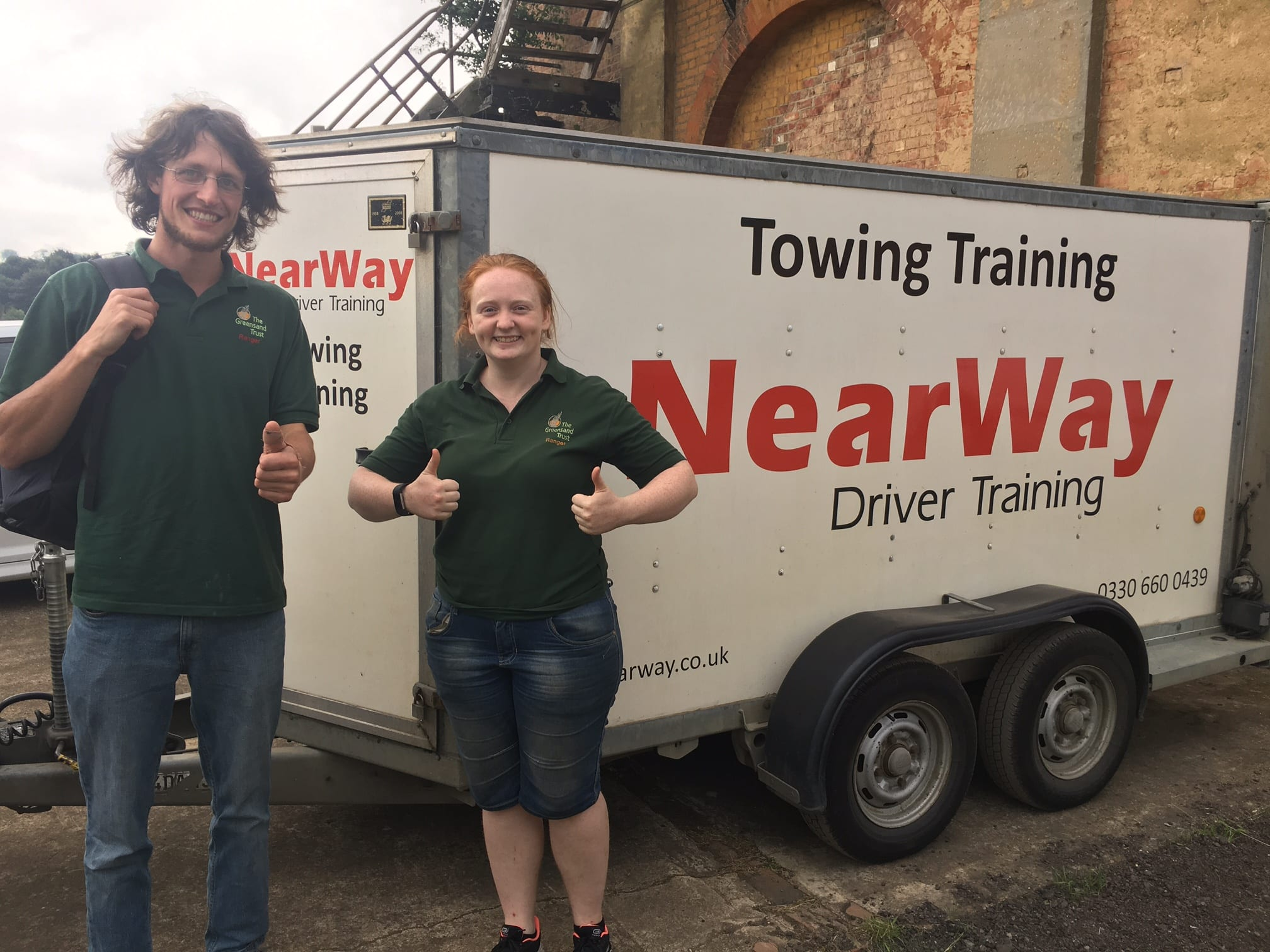 Matt Nash & Jo Baker Trailer test pass