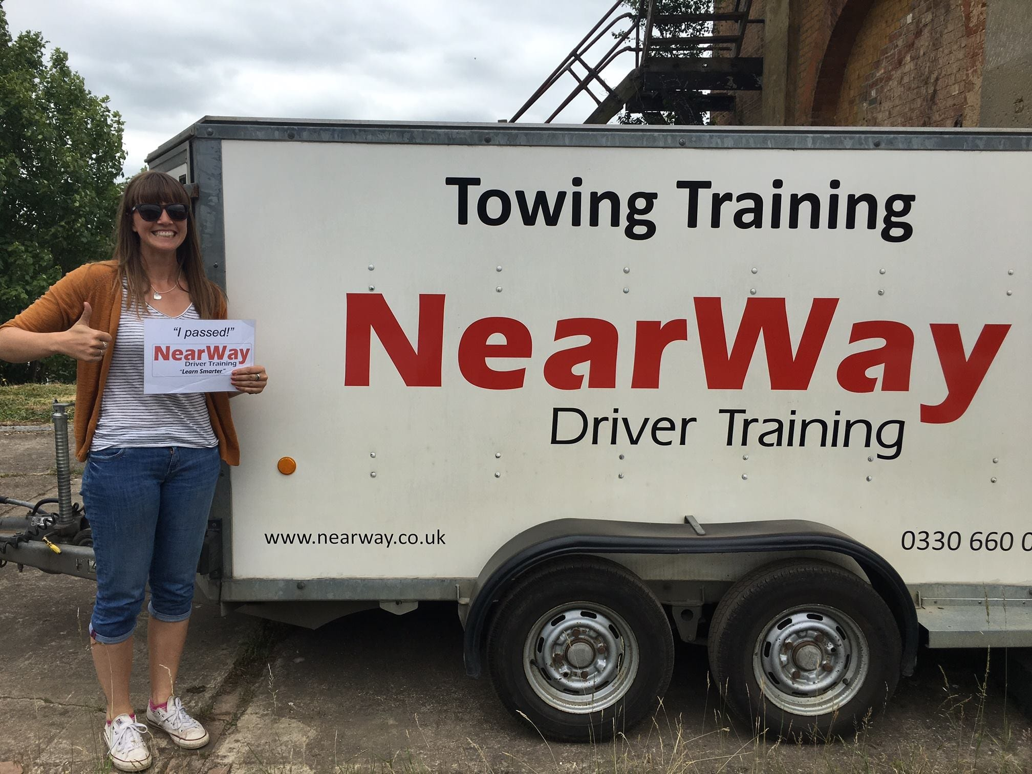 Amy Wood Trailer Test Pass