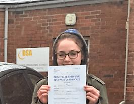 Claire Jardine, Driving Lesson Banbury Review
