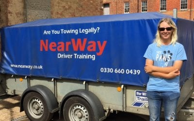 Hayley Laches Towing Test Pass