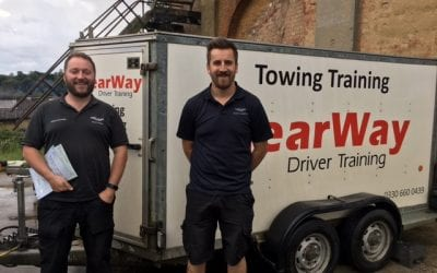 Marcus Butcher and Jack Bloxham Towing Test Pass