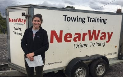Daisy Wood Towing Test Pass