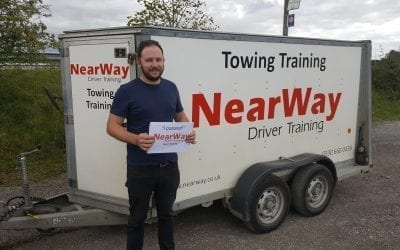 Will Hadland Car and Trailer Test Pass