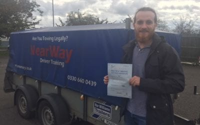 James Mannion and Tom Softley Trailer Test Passes