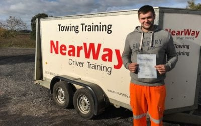 Connor Butler – Towing Test Pass
