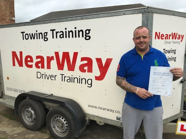 Gary Tagg – Trailer Test Pass