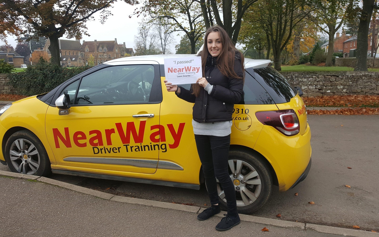 Lucy Alvarez Driving Test Pass
