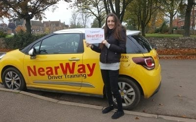 Lucy Alvarez Driving Test Pass