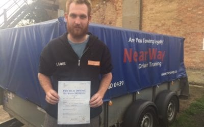 Luke McShane – Towing Test Pass