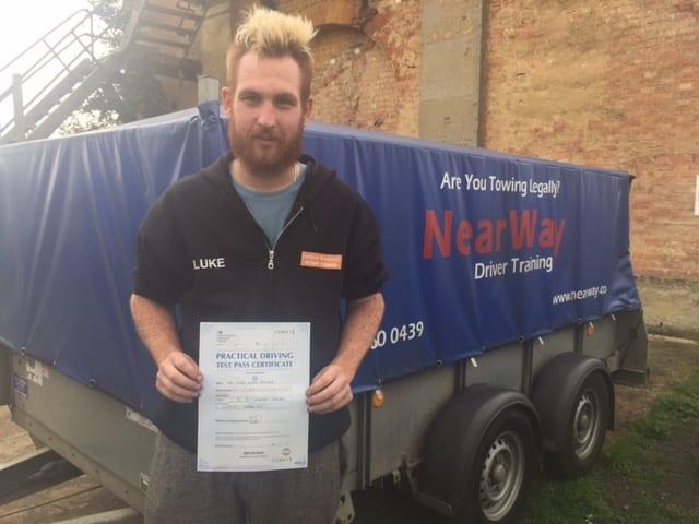 Luke McShane Towing Test Pass