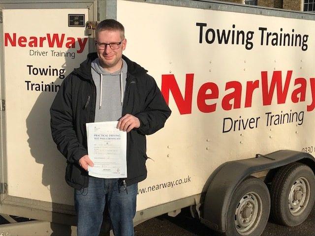 Andrew Blunkett Towing Test