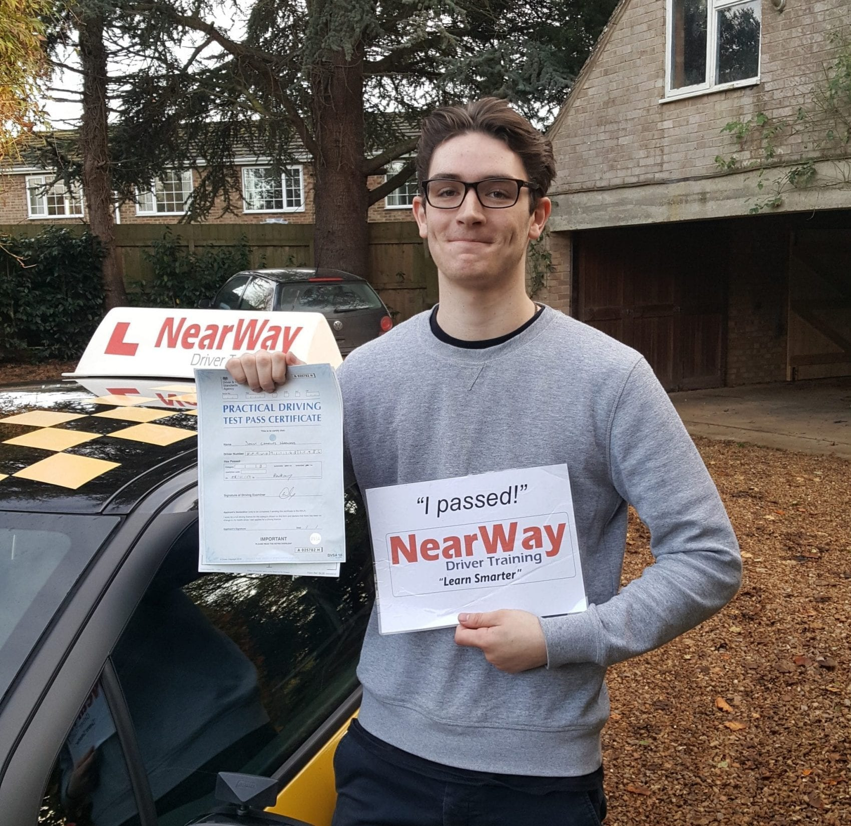 Jack Harwood Driving Lesson Review