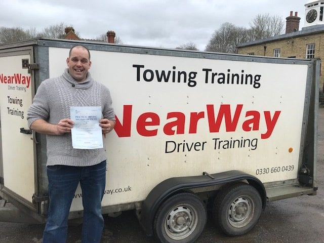 Lee Parker Towing Test Pass