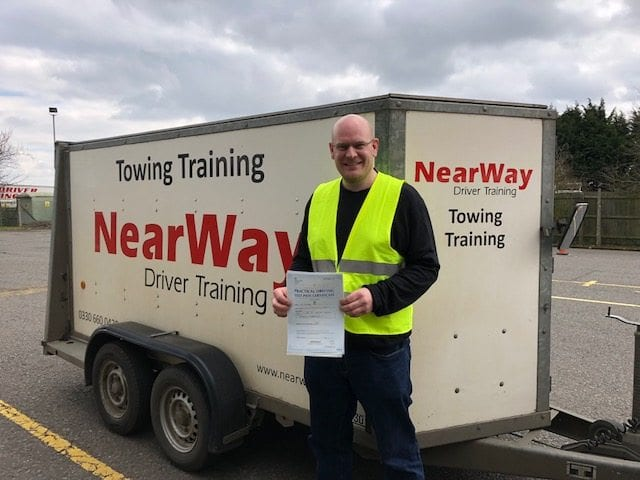 Michael Japp Towing Test Pass