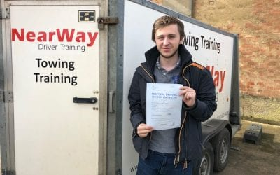 Andrew Dickens Towing Test Pass