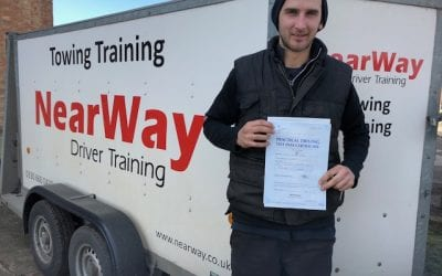 Calum Brown Towing Test Pass