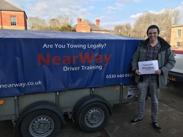 Trailer Towing Course Danny Sharp