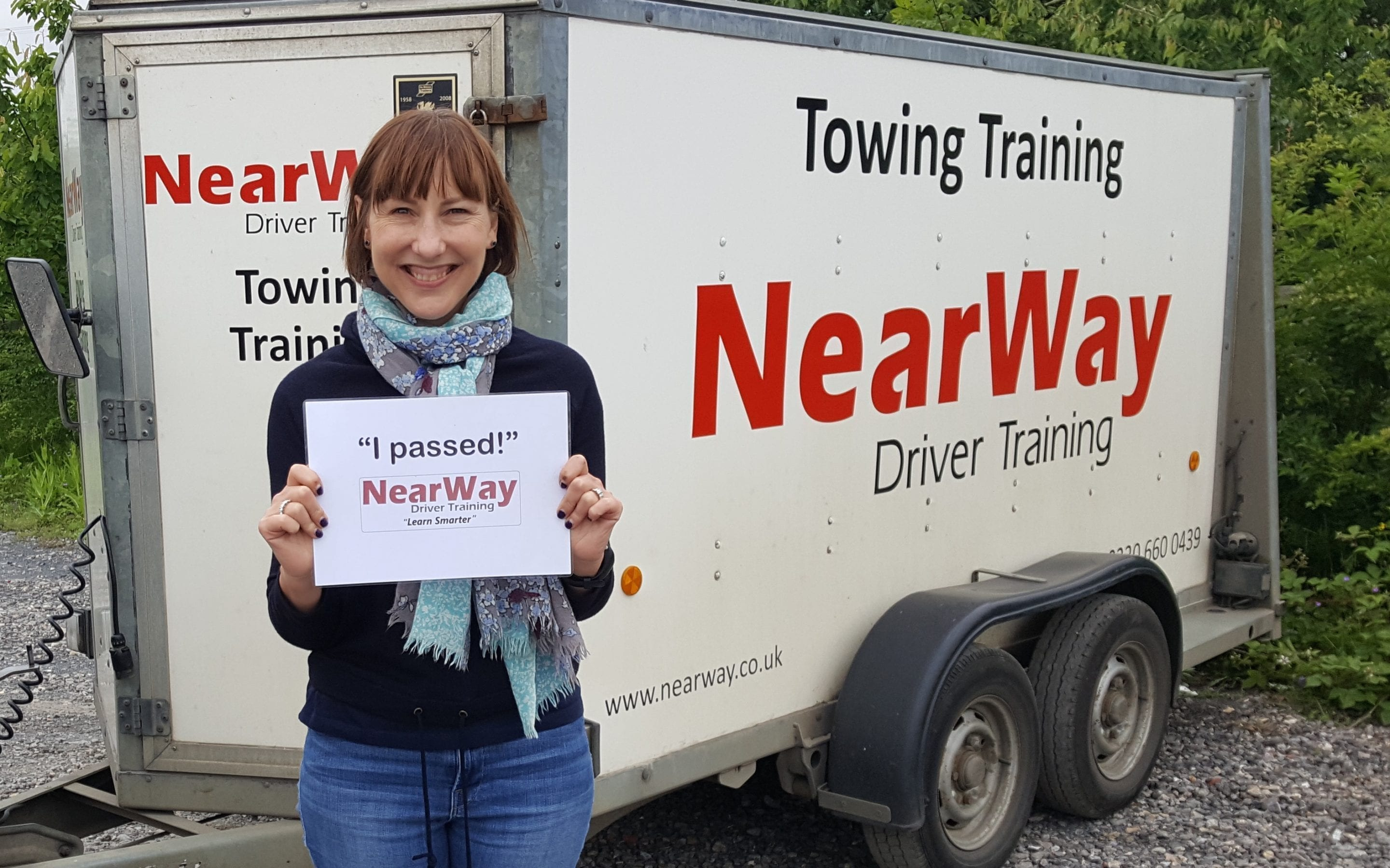 Catrina Holme Towing Training