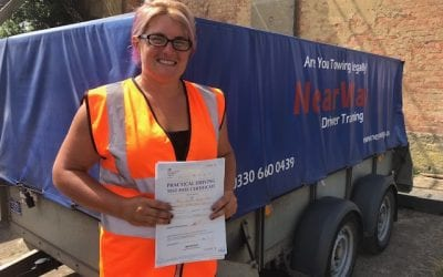 Kylie Priddy-Smith Towing Test