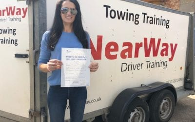 Laura Biss Towing Test Northamptonshire