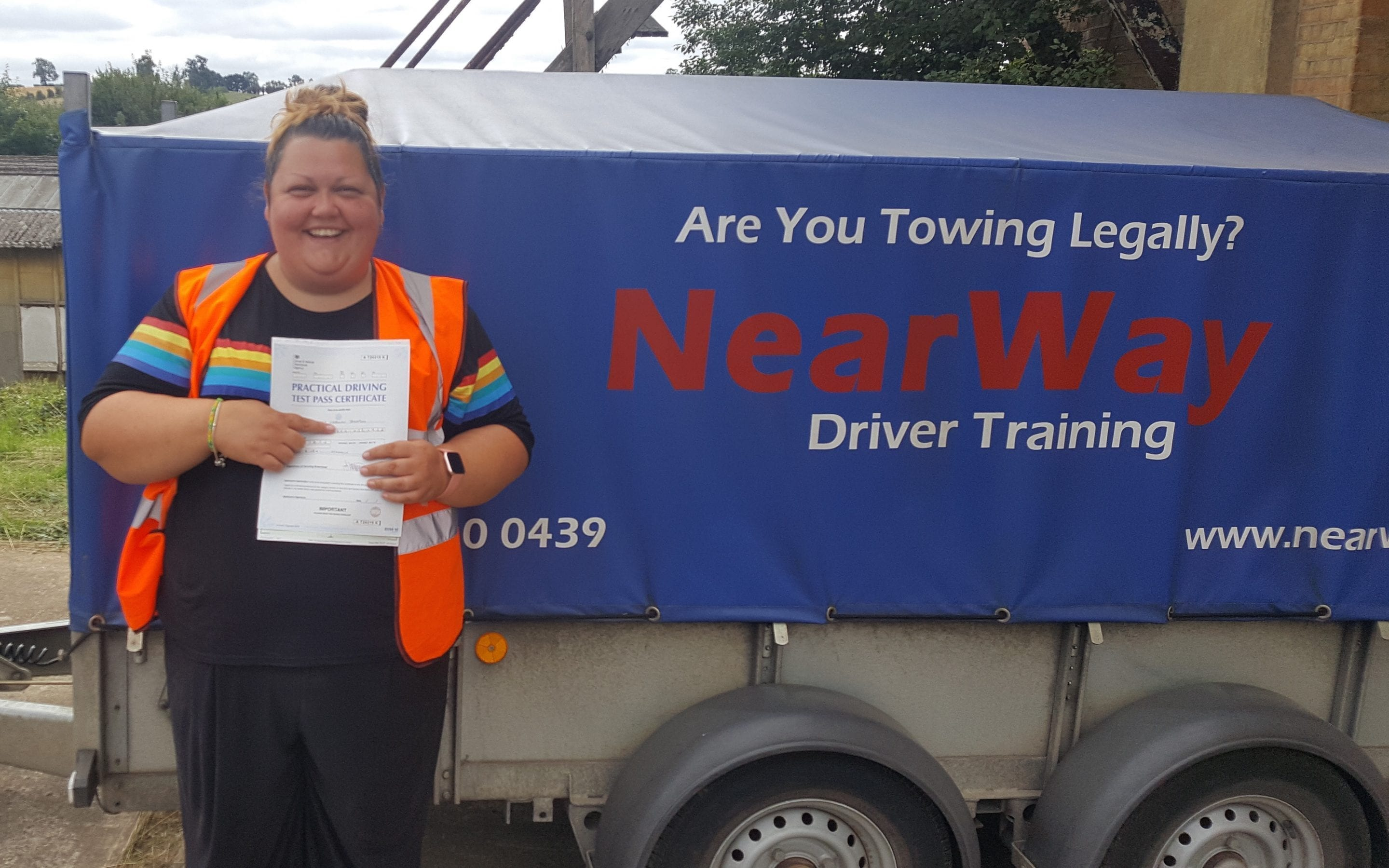Lynsey Thompson Towing Test