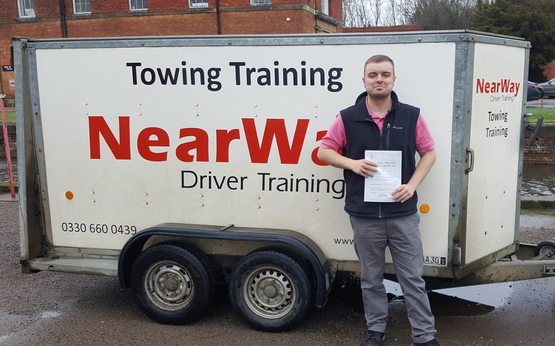 Stewart Ward Towing Test