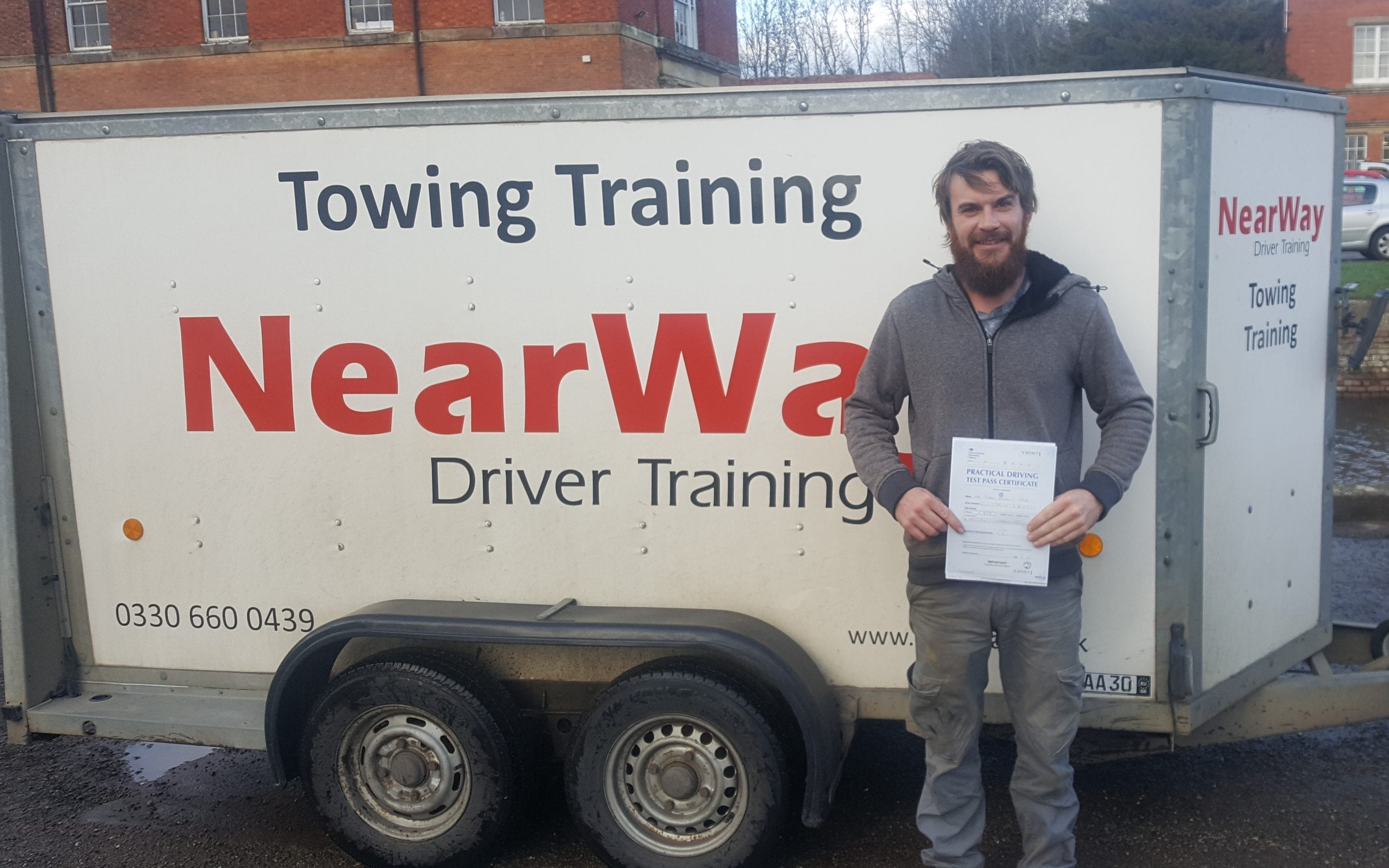 Robert Wood Towing Test