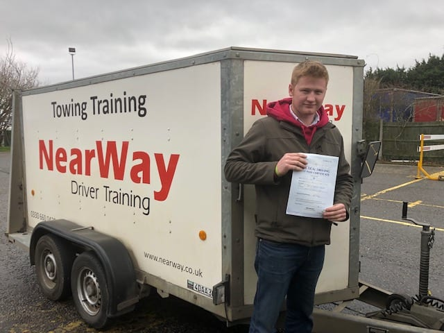 Cormac Thompson Towing Test