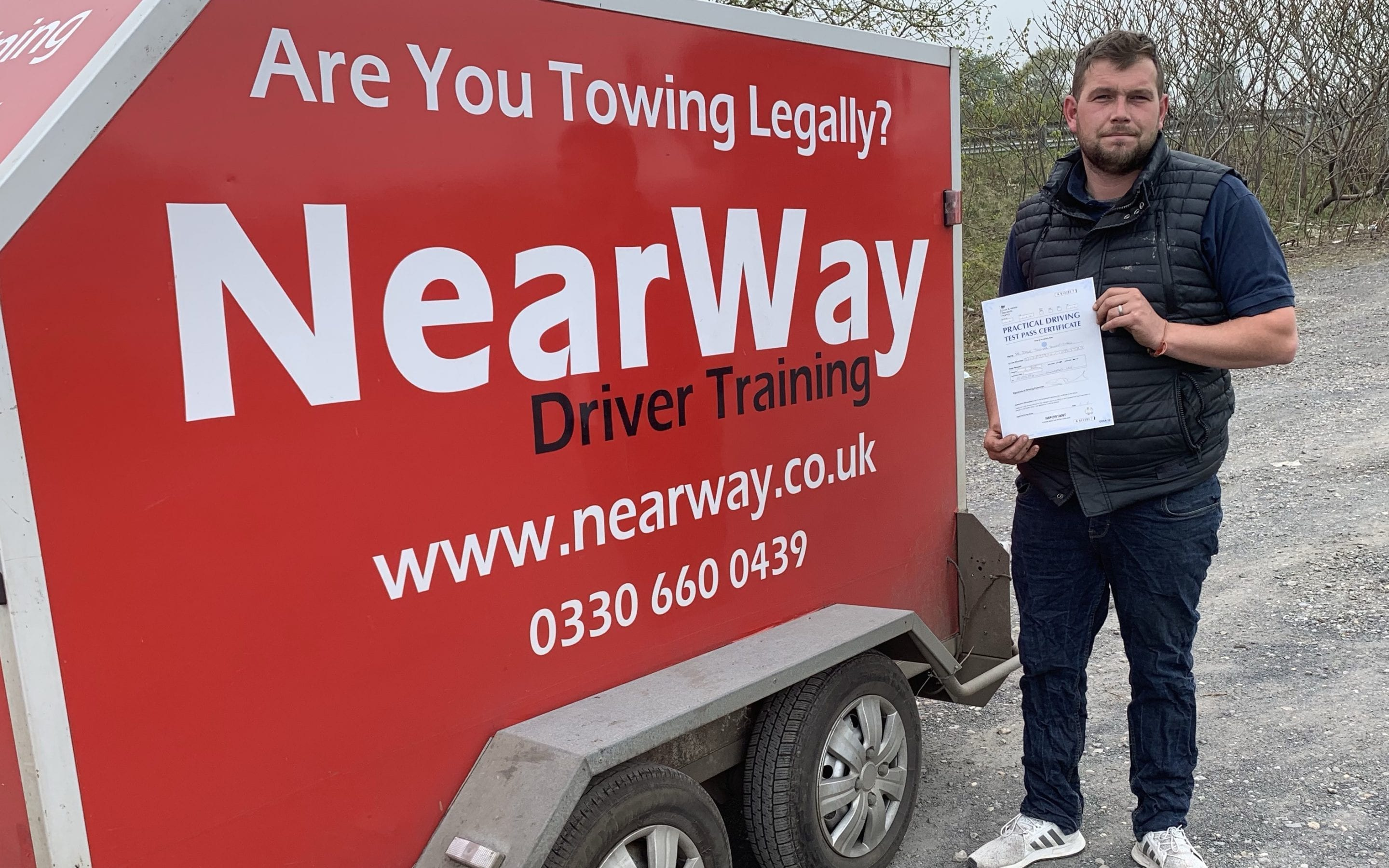 Dale Sweetman Towing Test