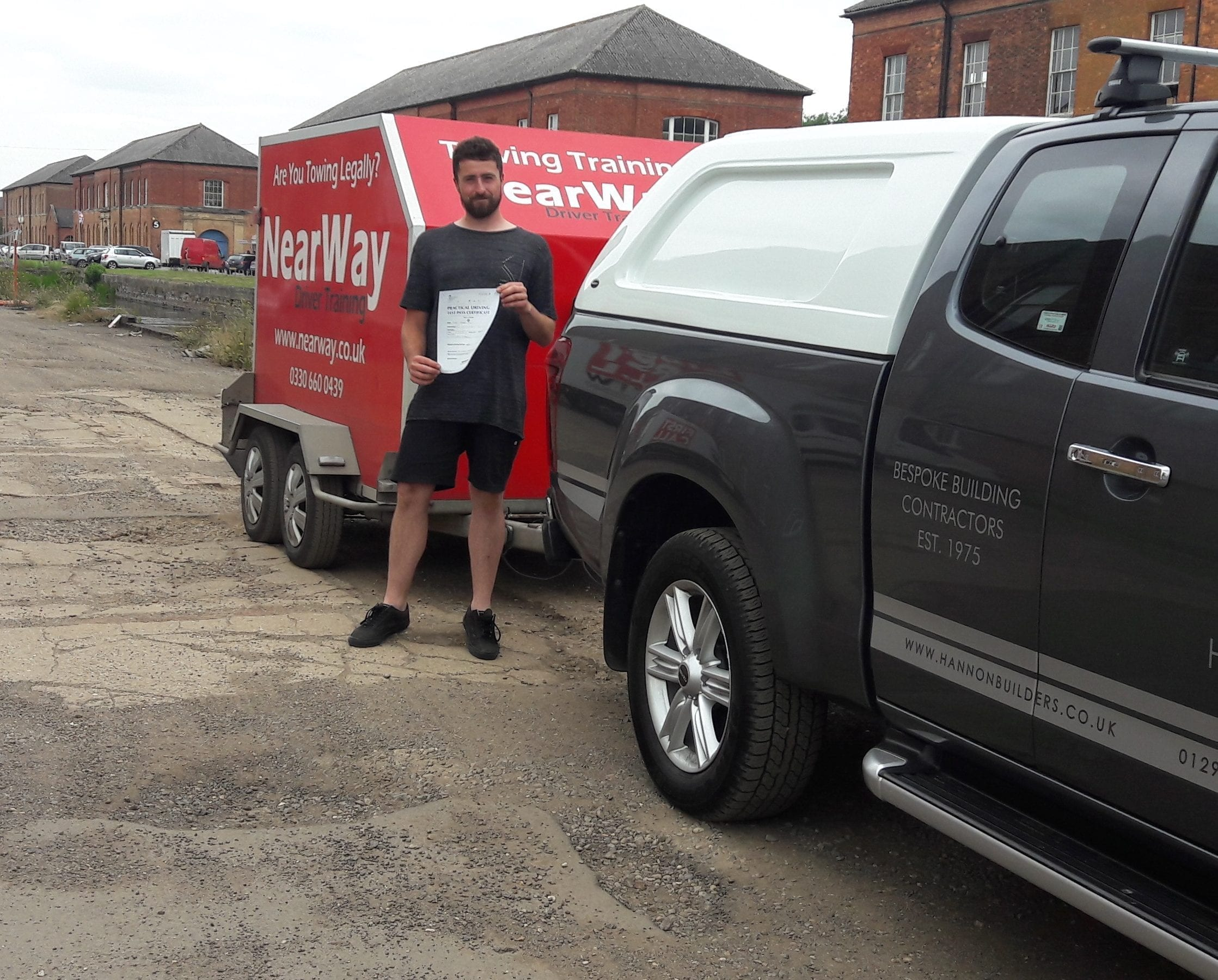 Rob Hannon Towing Test