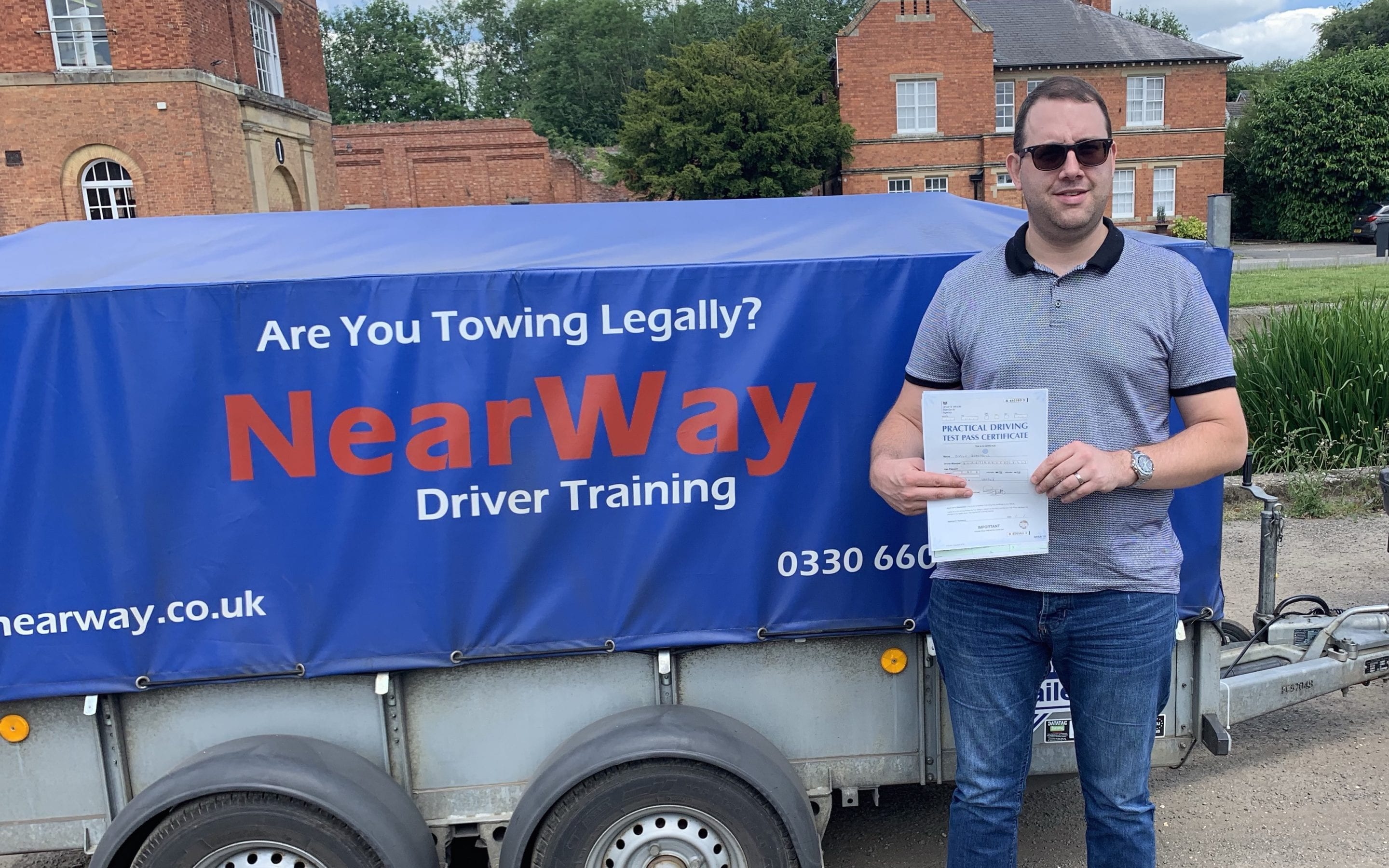 Simon Quantrell Towing Test