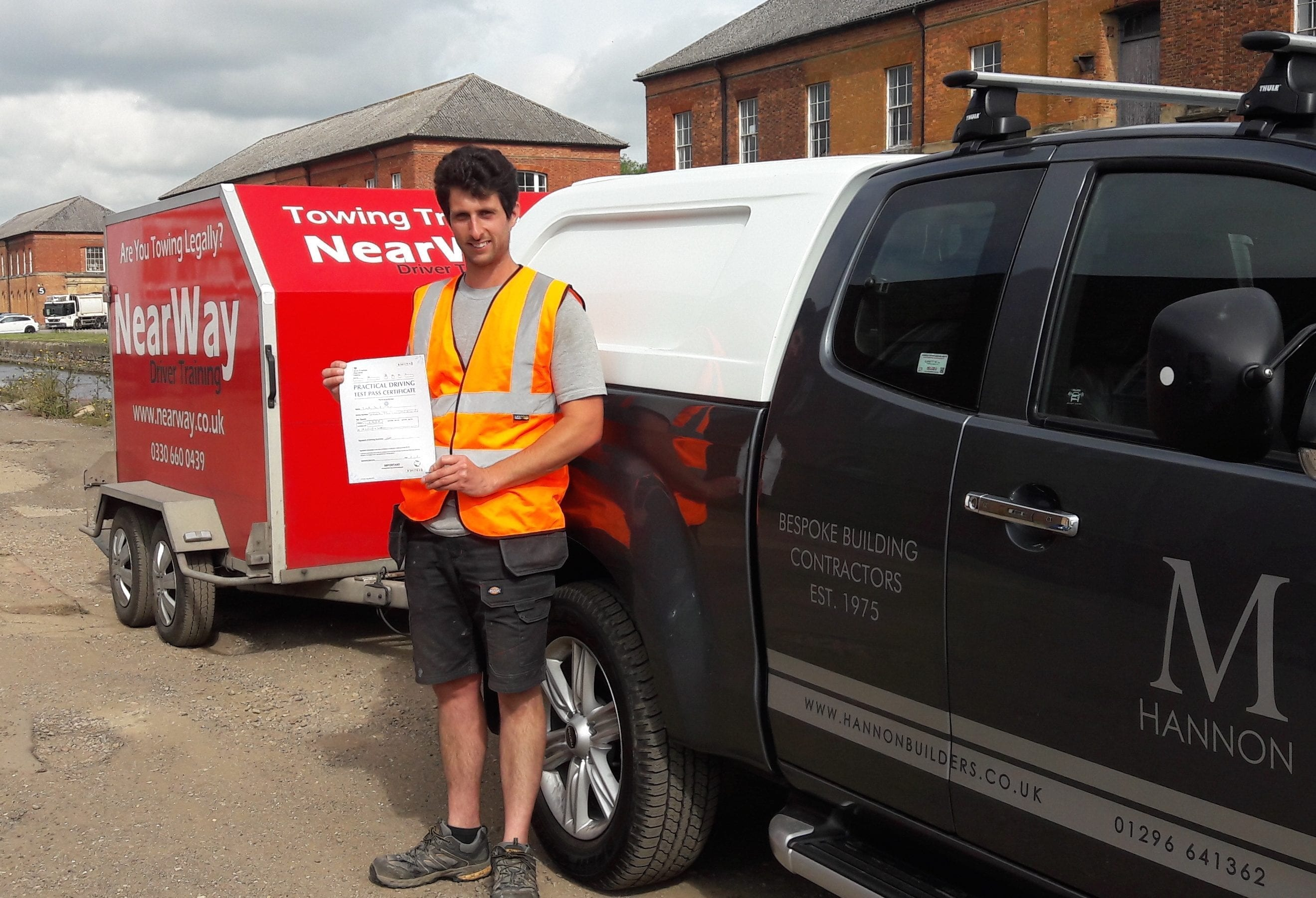 Tim Hannon Towing Test
