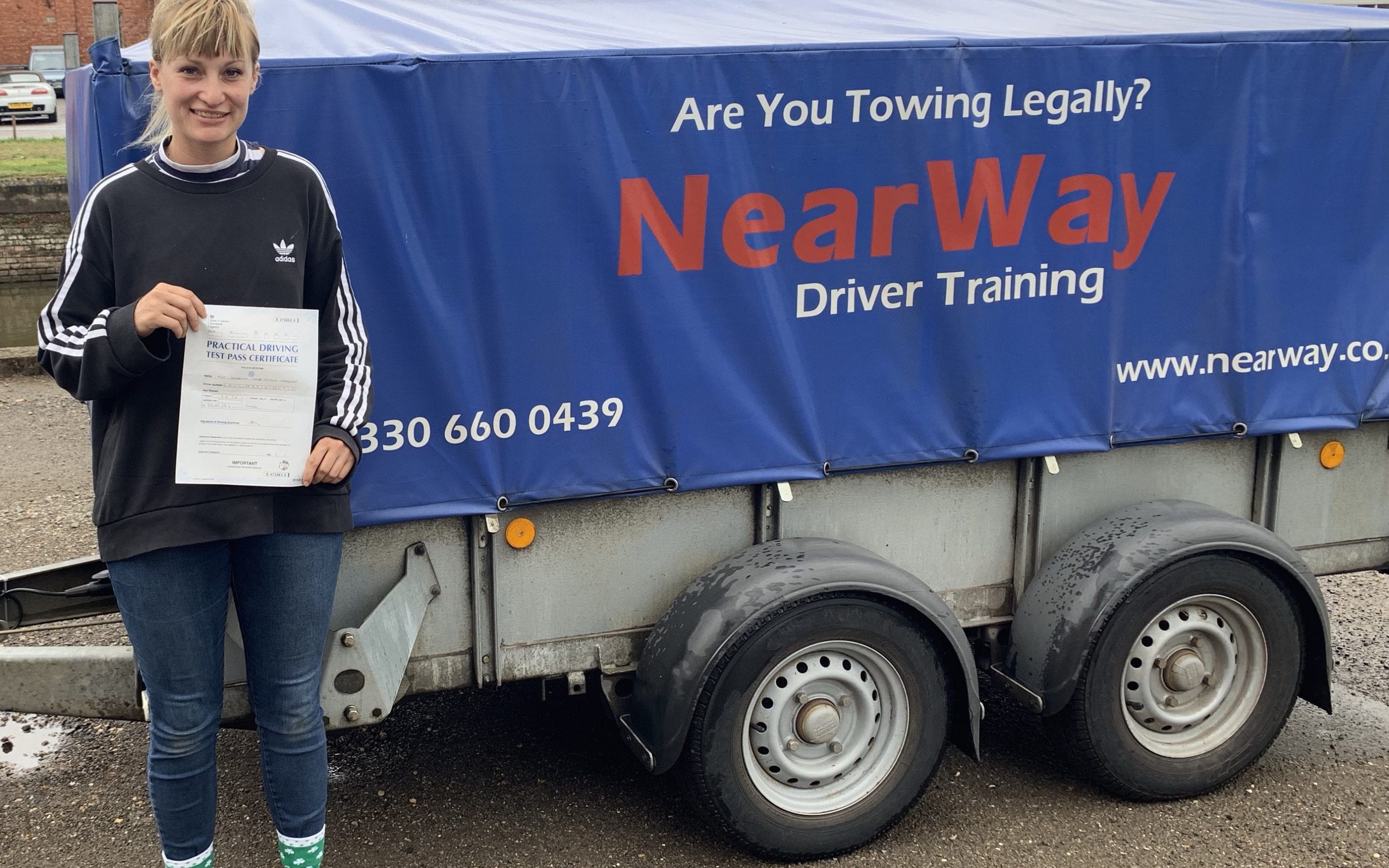 Georgina Landless Trailer Test Pass