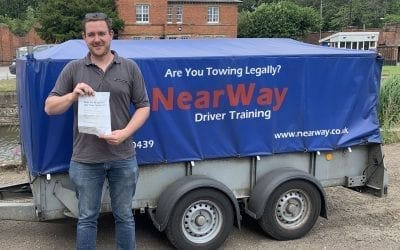 Jason Callow car and trailer test Northampton