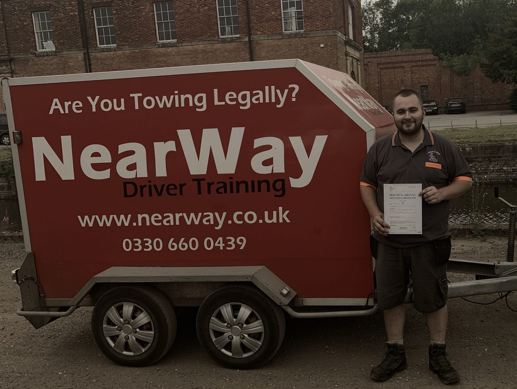 Jonathan Smith Towing Test Warwickshire