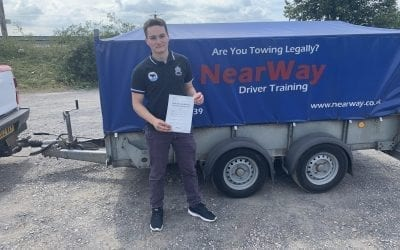 Matt Turner Car and Trailer Test Pass