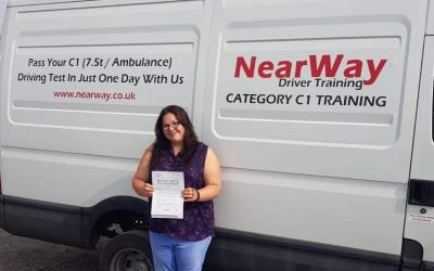 Megan Thomas C1 Ambulance Driver Training