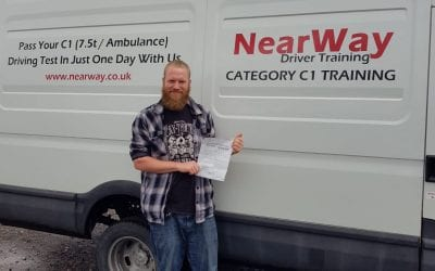 Nathan Munslow C1 Test Pass