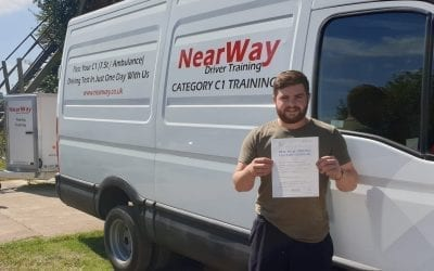 Ben Andrews C1 Test Pass