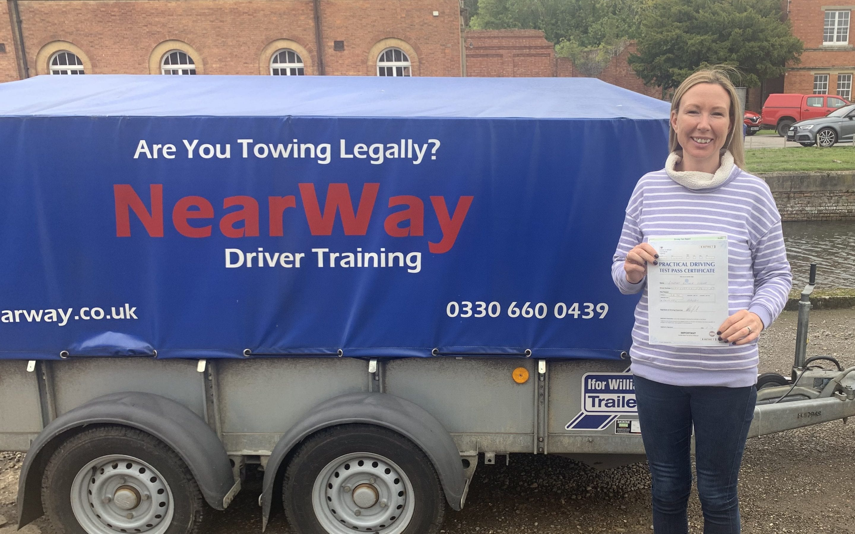 Lyndsay Wager Towing Test