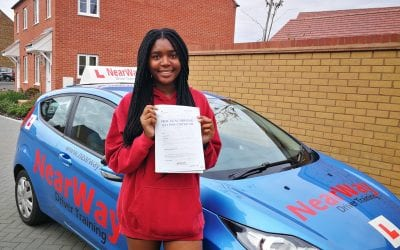 Tamyra Mathumo Driving Test