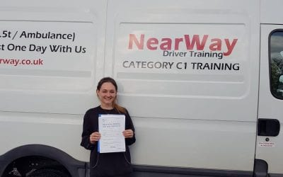Chloe Hall C1 Test Pass Oxfordshire