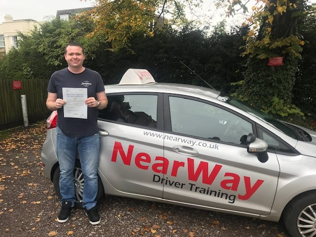 Liam Honer Driving Test Pass Banbury