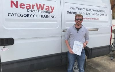 Tim O'Hagan C1 Test Pass