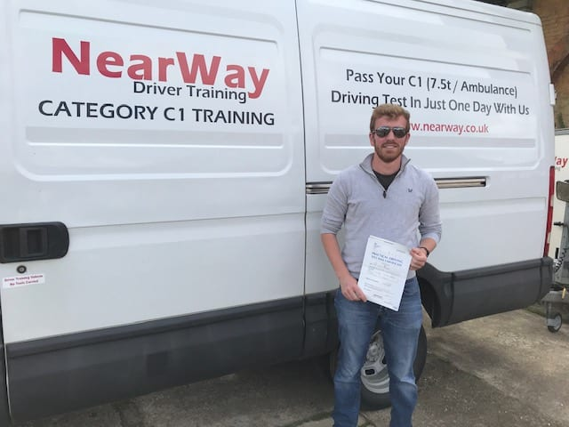 Tim O'Hagan C1 Test Pass