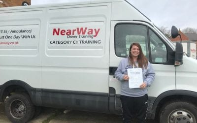 Abbie Nickolls C1 Test Pass