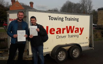 Tom Startin and Alex Burton Towing Tests