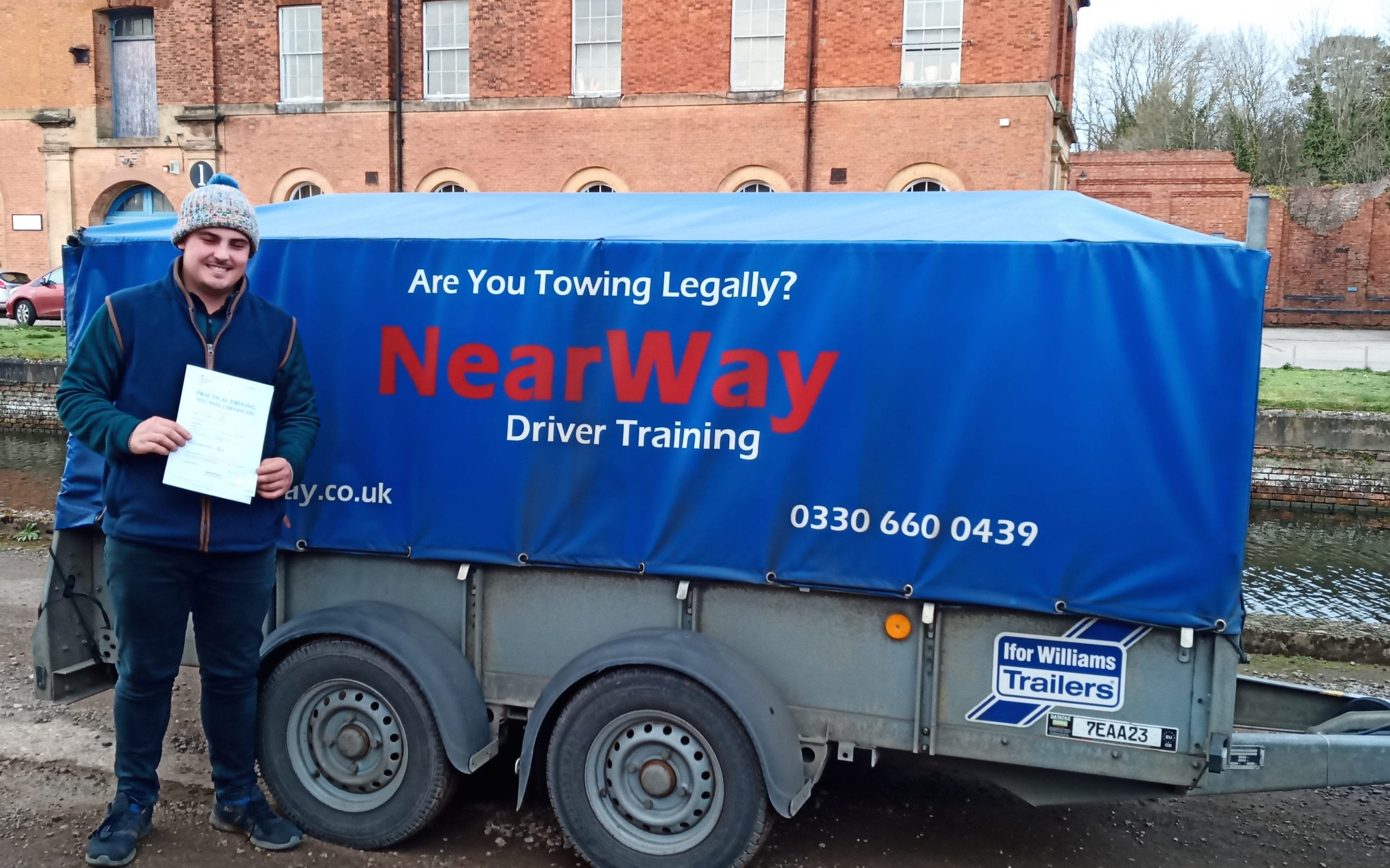 Harry Brown Towing Test