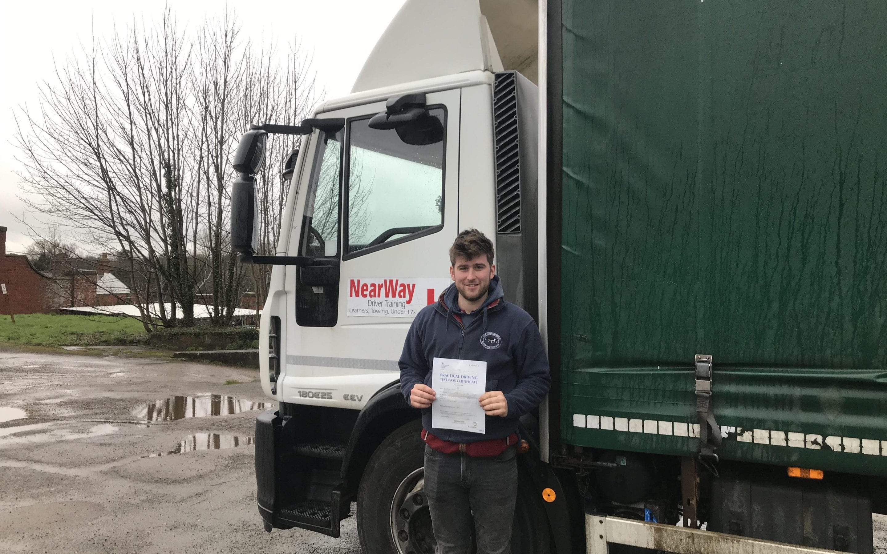 Harry Plant, HGV Training Northamptonshire Review